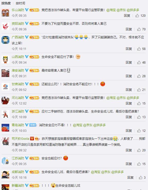 """鸿图官方:售卖""""应付检查""""消防喷淋头!中国消防点名电商平台:到底你在应付谁?(图2)"""